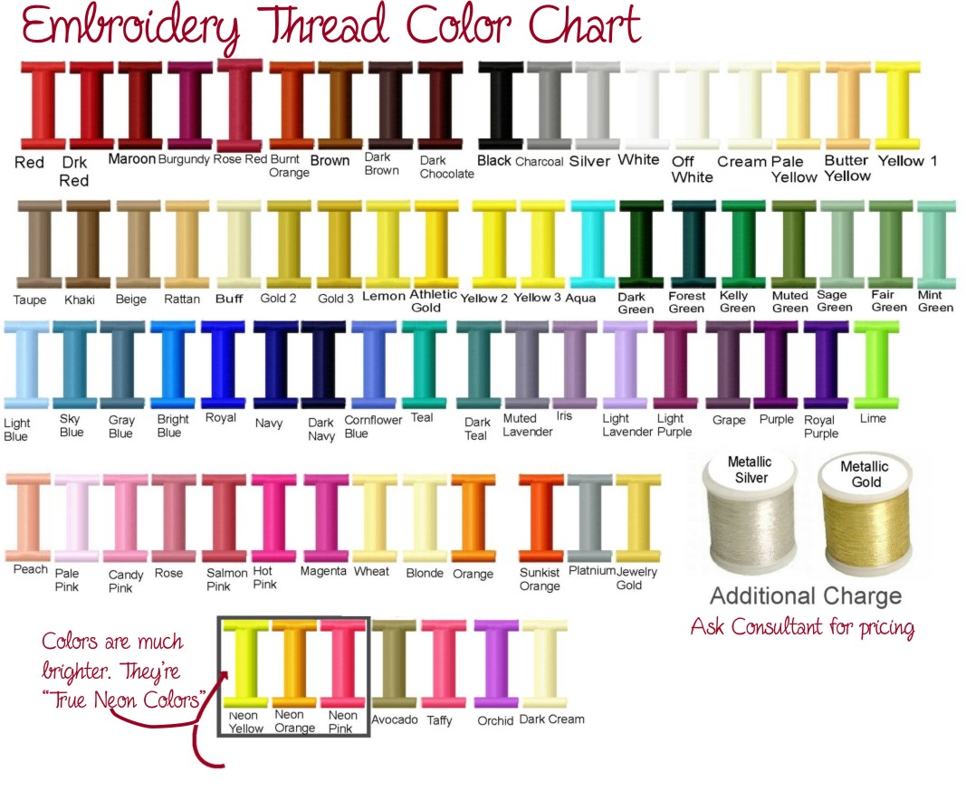 iris embroidery floss color chart: Thread colors for embroidery makaroka com
